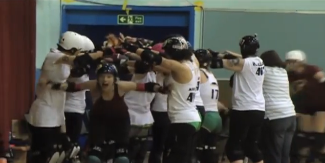 Image taken from our video - AltFitHealth - Roller Derby