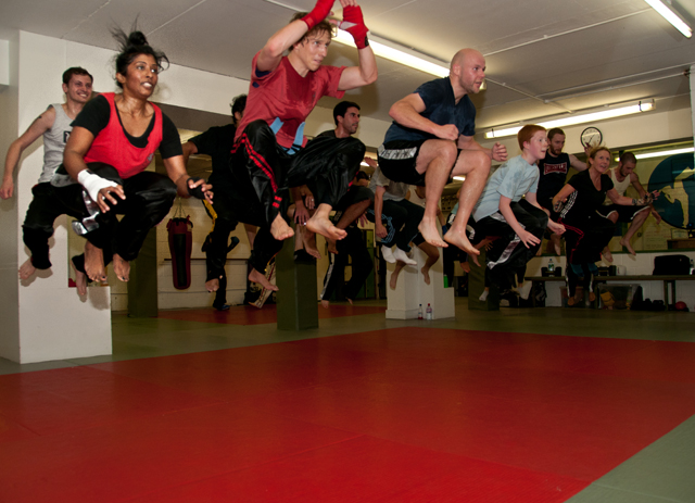 Tabata at SpringHealth Kickboxing
